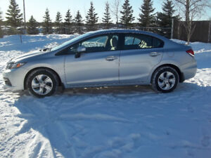 "2013 Honda Civic LX Sedan "" Heated Seats Low kms"""