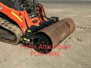 Roller Attachment FOR HIRE. Suit Skidsteer or Track Machine Pickering Brook Kalamunda Area Preview