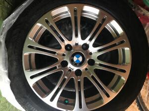 """TIRE & MAG BMW 16 """" runflat pneu et mag"""