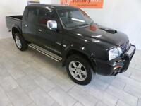 2003 Mitsubishi L200 2.5 TD Warrior LEATHER, TINTED WINDOWS, ALLOYS, TOW BAR