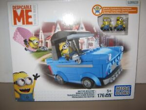 despicable me minion motor mischief mega bloks. new,not opened.