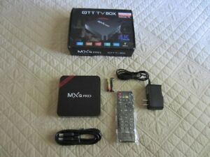 TV-BOX (Smart TV) $70 Livré/Delivered à Chateauguay Seulement !!