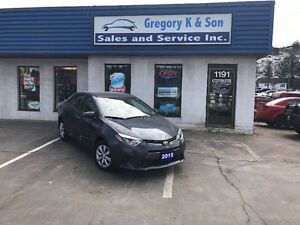 2015 Toyota Corolla LE Sedan, Back-up cam, heated seats!!