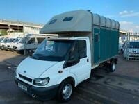 2005 Ford Transit IFOR WILLIAMS HORSE BOX STUNNING RARE CONDITION SUPERB DRIVE W