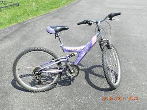 """Two 24"""" Girl's Mountain Bikes"""
