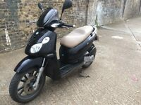 2009 Piaggio carnaby 125cc learner legal 125 cc scooter. 1 year MOT.
