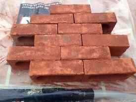 Hanson ecostock oakthorpe red multi bricks HALF PRICE !!