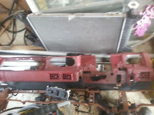 87-93 red mustang interior parts