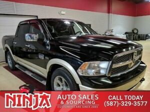 2012 Ram 1500 Laramie  Longhorn Leather Sunroof Nav BU Cam Low K