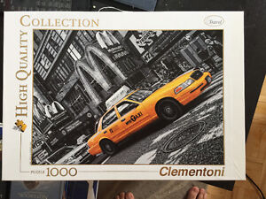 Puzzle taxi NY complete! Casse tete complet!