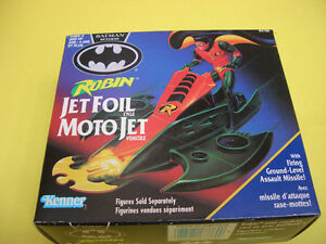 BATMAN RETURNS ROBIN JET FOIL CYCLE, ROBIN AND 2 LOOSE FIGURES London Ontario image 8