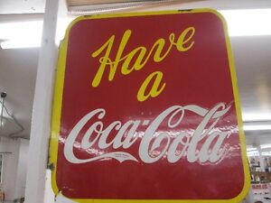 1941 COCA COLA FLANGE SIGN