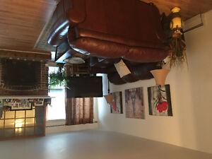 Very large cozy 3 bedroom condo in west island