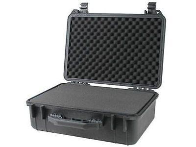 "18"" Weatherproof Hard Shell Case For DSLR HD Camera with Pelican 1500 Pluck Foam"