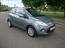 Ford Ka 1.2 Style + 2009, Only 37000 Mls,Silver, FSH, 1 Year Mot, £30 RFL, A/C