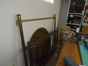 Brass Headboard and Footboard - single bed Peterborough Peterborough Area image 2
