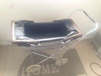 Dolls double silvercross pram