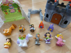 Fisher Price Little people princesses & chateau