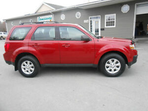 2011 MAZDA TRIBUTE 5 DOOR LTD SUV, 3 YEAR WARRANTY INCLUDED