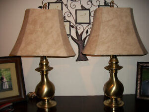 Brass Table Lamps for Sale