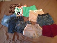 Lot de short 2 et 3 ans fille