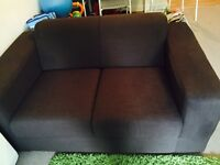 second hand great condition fabric sofas