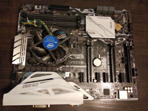 ASUS PRIME Z270-A LGA 1151 Mother Board With intel CPU G4400