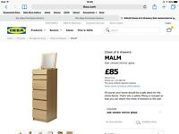Malm chest of drawers