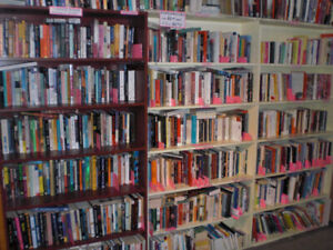 Huge Used Book Sale at Jenny and Brian's Books - Easter Weekend!