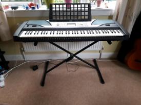 Yamaha PSR-GX76 Keyboard & stand