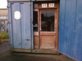 10 x 8 office container.. .elec.... security door....etc