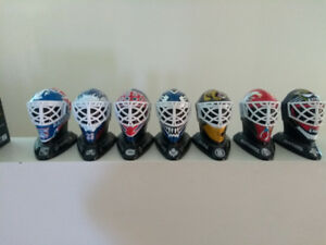 NHL Mini Goalie Masks
