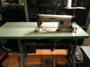Industrial JUKI Sewing Machine and 3-Thread Serger