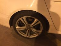 Audi S6 OEM 20 inch wheels with continental 255-35-20