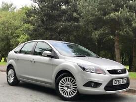2011 Ford Focus 1.6 TDCi DPF Titanium 5dr *SILVER *FSH *12M MOT *ONLY 70K MILES