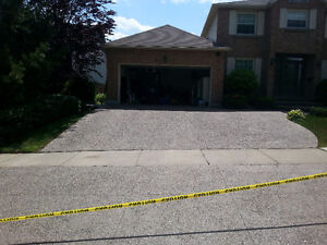 Exposed Aggregate, Stamped Concrete, Flagstone - Sealing London Ontario image 2