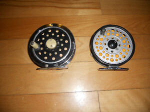 Moulinets a mouches 55$ chaques, Fly reels