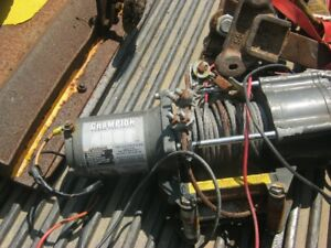 WANTED !!  1000 - 4500 winch