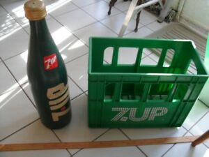 7UP Big Bottle and Case