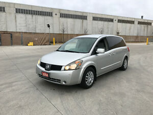 2004 Nissan Quest, DVD, Only136000km,7Pass, 3/Y warranty availab