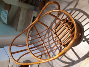 Antique Rattan Chair for sale. Very old, very good condition.