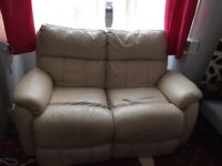 DOUBLE LEATHER ELECTRIC RECLINER TIMOTION