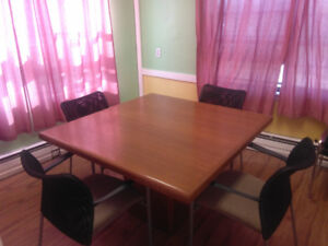 Wooden Board Room Table-Buy One and Get One Free