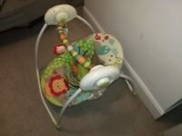 baby swing Bright Starts Up and Away Portable Swing