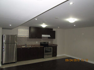 2 Bedroom Basement Apartment available for rent in Brampton
