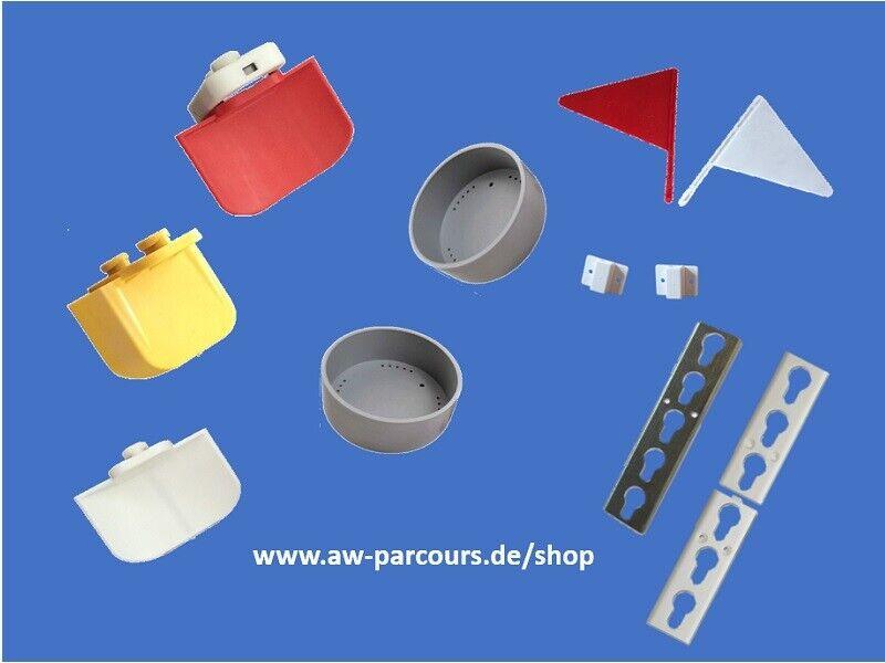 Hindernisauflage, Sicherheitsauflage, Hindernisschiene, Fähnchen, Stangenkappe