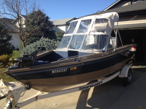 Used 1998 Lund Boat Co Pro Sport 1700