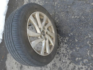 Mazda 3 Rims and Tires