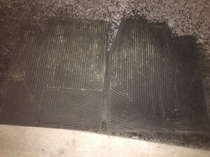 F150 Super Crew Cab Weather Tech Floor Mats - Rear Only