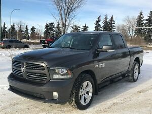 2014 Ram 1500 Sport Crew Cab 4X4 Fully Loaded!!